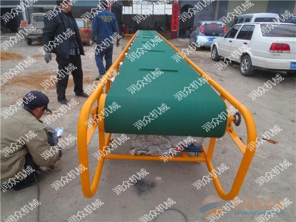 巴彦淖尔砂石料场皮带输送机石料装车皮带输送机