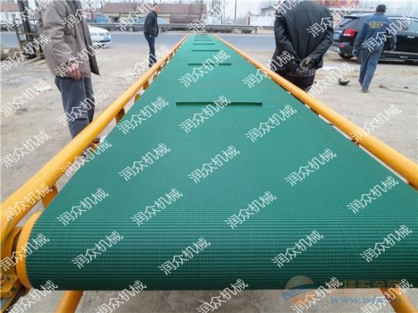 舟山砖厂专用带式输送机颗粒装袋输送机