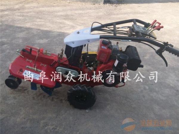 滨州多功能果园施肥开沟机柴油动力田园管理机