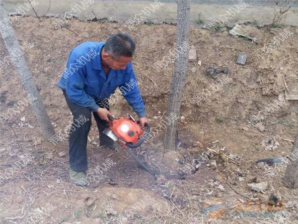 北海树贩专用挖树机多用途挖树机