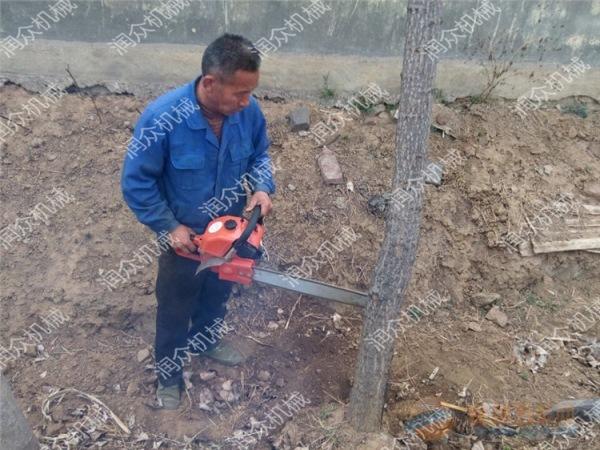 黔南汽油式果园挖树机苗圃园林挖树机