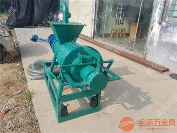东港区牛羊粪便处理机 东港区有机污水渣液分离机