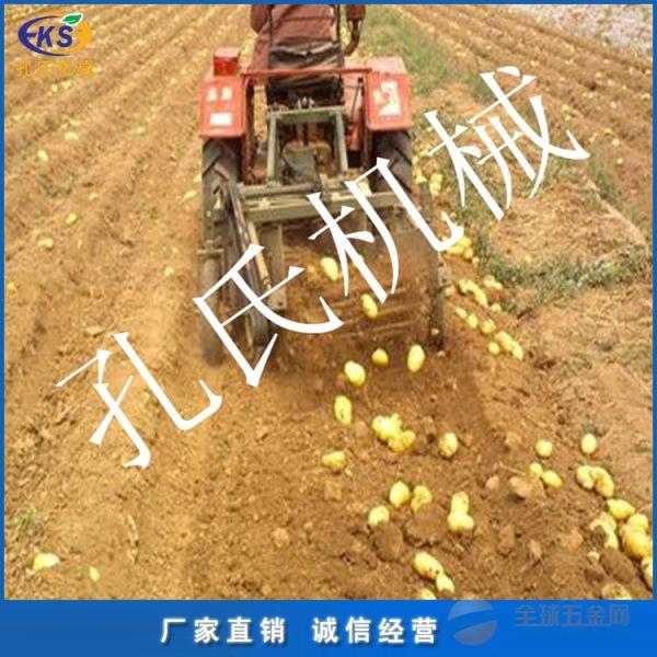 手扶车带土豆薯类收获机襄阳多功能地瓜收获机厂家直销