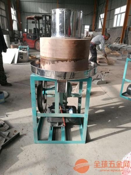 米浆电动石磨大庆电动石磨磨面机