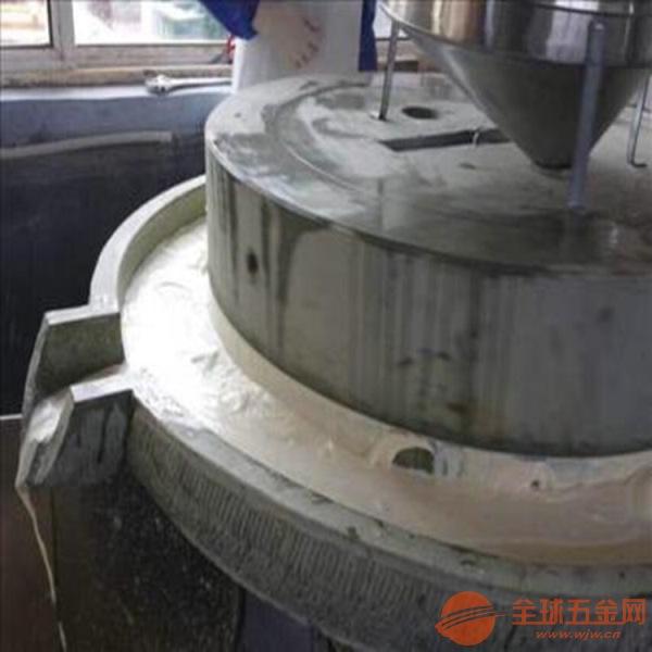 鲜豆浆磨浆机耐磨石磨机常州供应小型电动豆腐石磨机