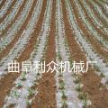 日照农用四轮带动单垄双行花生播种覆膜机山东 济宁