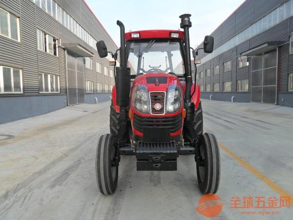 拖拉机带简易遮阳棚 柴油动力中型四轮拖拉机娄底