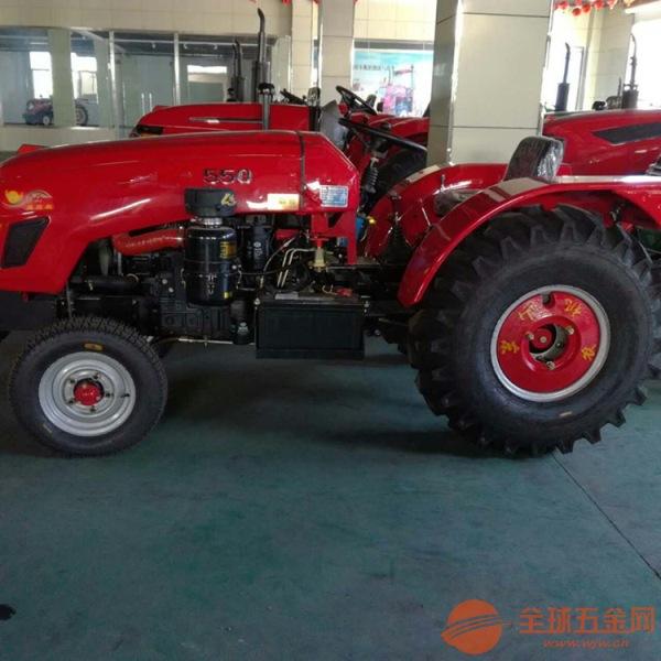 多缸的四轮拖拉机液压助力方向的四驱拖拉机低矮型的大棚王拖拉机