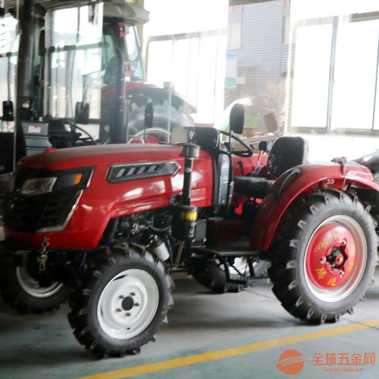 农用带拖斗运输机 电启动液压转向柴油动力拖拉机六安