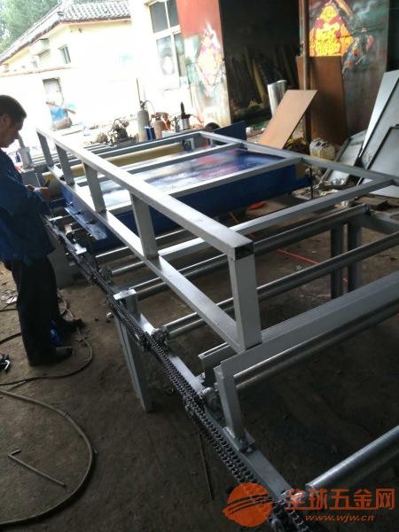 石膏板贴面机设备生产线木工机械平面大板贴纸机