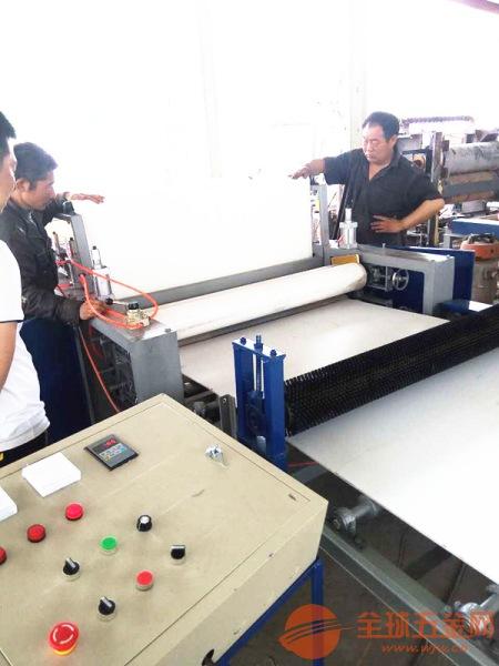 木工装饰板材贴纸机 耐高温全自动木工覆膜机