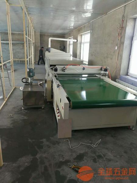 uv瓷砖上光机背景墙打印上光油整套工艺设备合肥