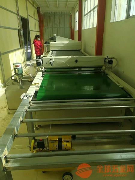 光油淋幕机瓷砖纤维板机 集成墙板3d打印机 徐州
