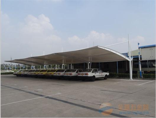 邕宁区阳光板停车棚7生产厂家