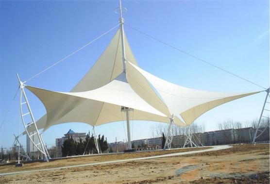 定安县钢结构停车棚55质量保证