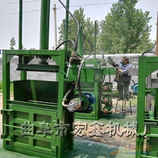 棉花秸秆打包机稻草秸玉米秸秆液压打包机低能耗