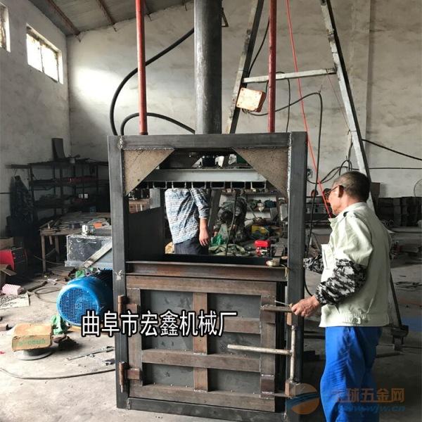 新型油桶压块打包机可选防爆设备防爆油漆桶压扁机南通市