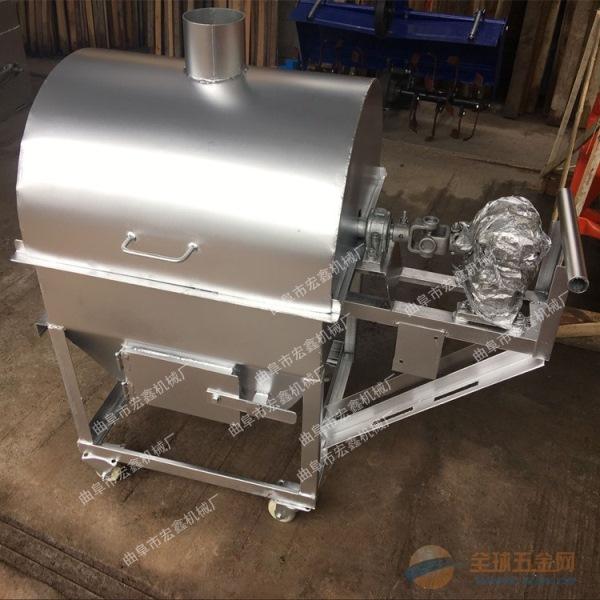 瓜子花生小型滚筒炒货机厂家 泉州 燃气炒花生的机器
