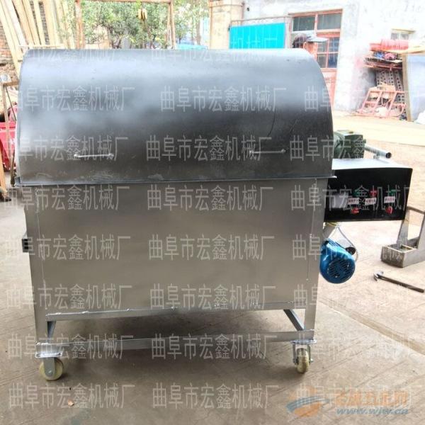 花生瓜子板栗炒货机一机多用 延安 全自动多功能滚筒炒