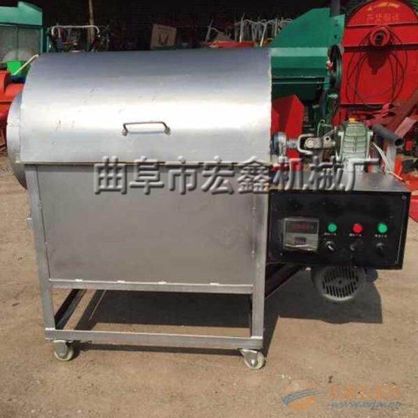 定制大中小型瓜子炒货机 盐城 商用煤加热炒货机