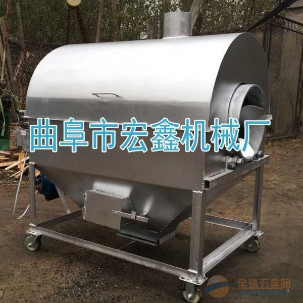 板栗瓜子花生炒货机 长春 50斤炒杏仁的机器