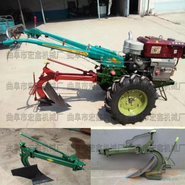 雅江县农发小型翻耕犁地机生产定做柴油开沟机