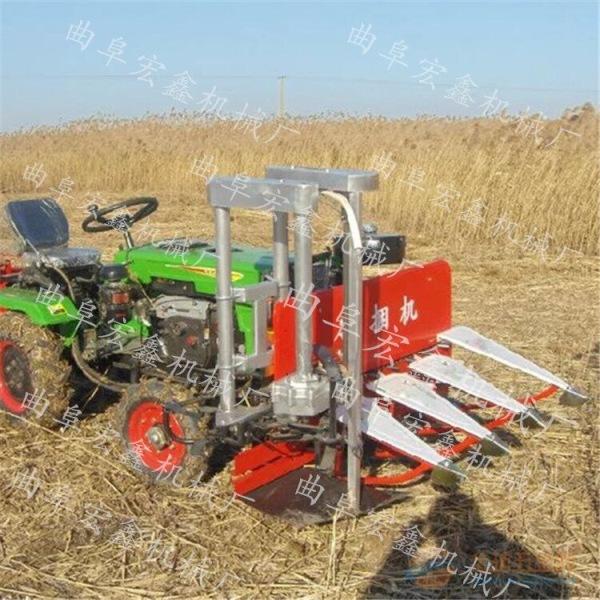 自走式汽油玉米割倒机长春油菜苜蓿草收割机