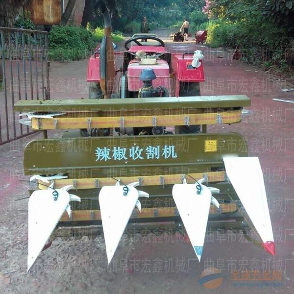 四轮前置式割台厂商丘大豆收割机