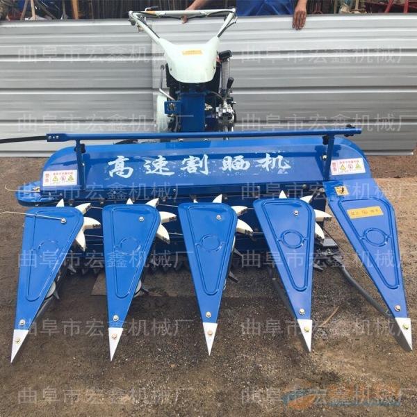 多功能手扶稻麦玉米秸秆割晒机 清远前置式割晒机价格