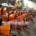潍坊自走式农用收割机 链条传动前置式割台