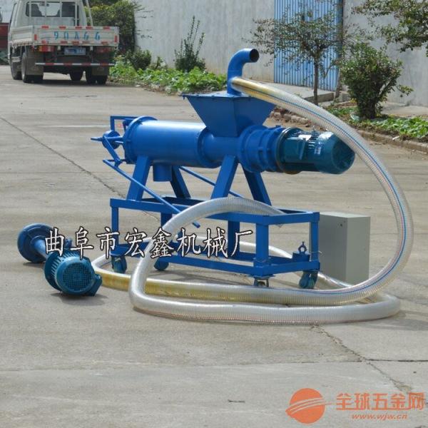 小型猪粪脱水机 北川县 啤酒渣脱水机