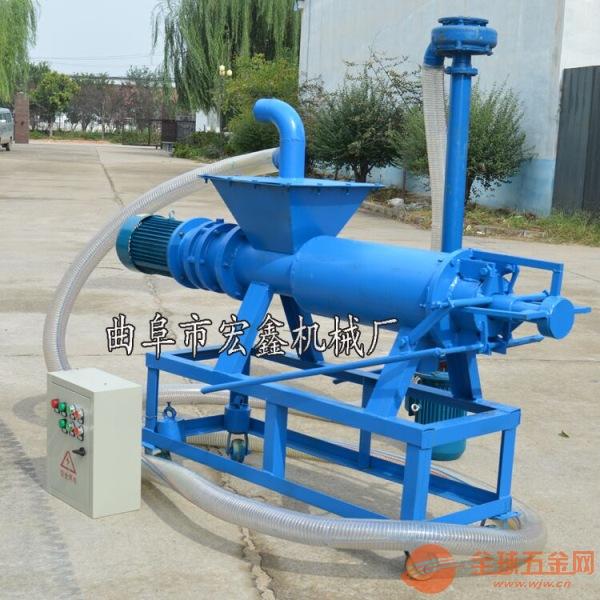 养猪场固液分离机 青川县 猪粪脱水机厂家直销
