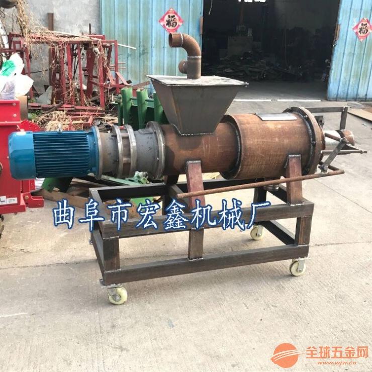 鸭粪小型固液分离机 苍溪县 啤酒糟脱水机图片
