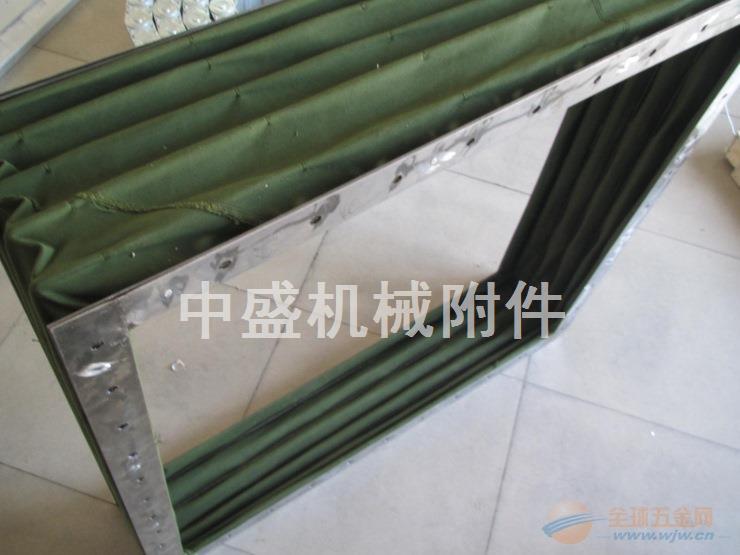 方形通风软连接 方形通风帆布伸缩软连接厂家直销