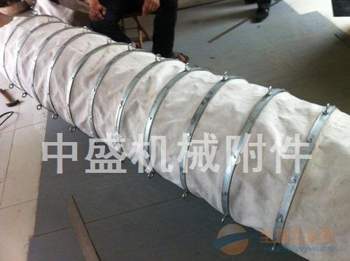 水泥吊环式帆布卸料布袋