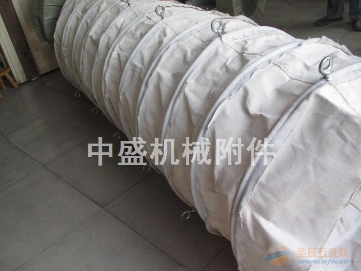 装船机耐磨加厚帆布伸缩布袋全国供应