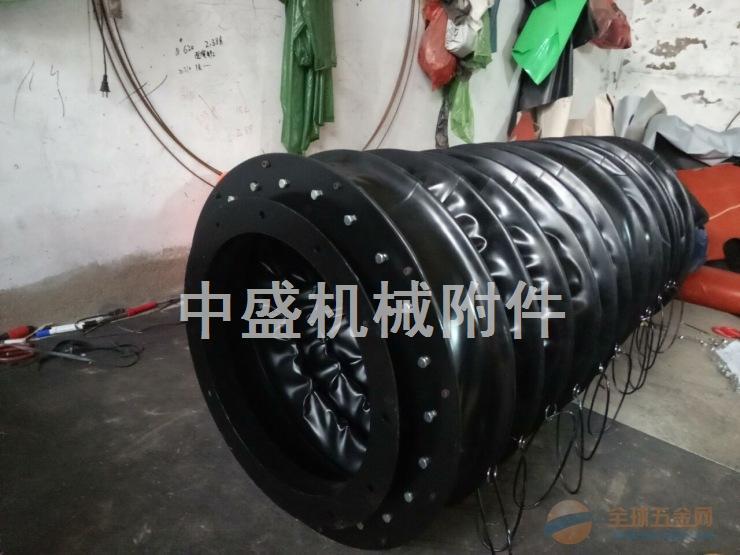 石油设备防尘防油密封伸缩橡胶软连接