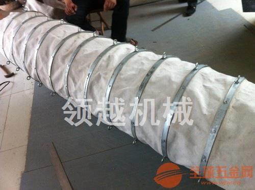 供应吊环式帆布伸缩卸料布袋