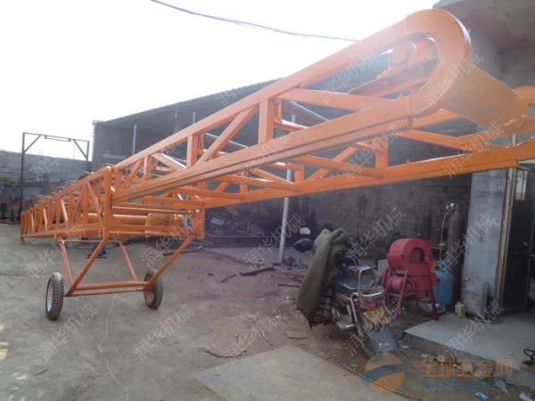 移动式皮带输送机 滨江区工业移动输送机
