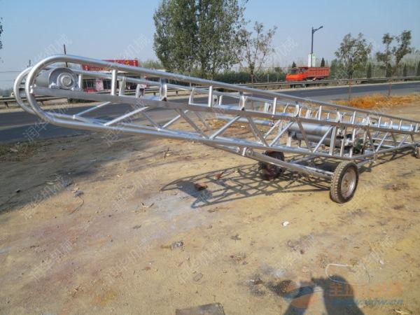 可调节高度的输送机 郊区1200mm皮带输送机