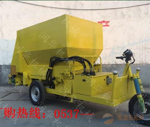 永州双侧出料饲料撒料车 永州自动下料撒料车