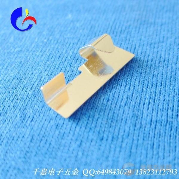 广东东莞弹片厂家 磷铜镀金弹片开关弹片 加工