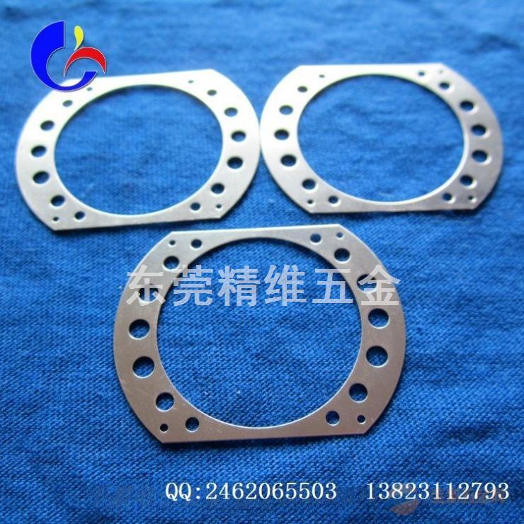 【厂家直销】 东莞厂家定做304不锈钢弹片五金弹片冲