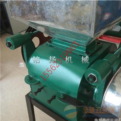 黄山大产量的小麦压扁机小功率高产量挤扁机