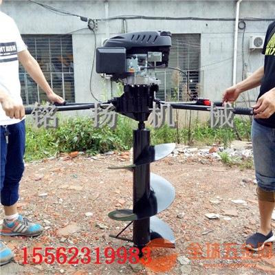 漯河专业生产多种型号挖坑机大马力汽油打坑机直销