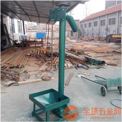 碳钢长距离螺旋加移动轮递料机不锈钢橡胶粒装仓螺旋垂直递料机
