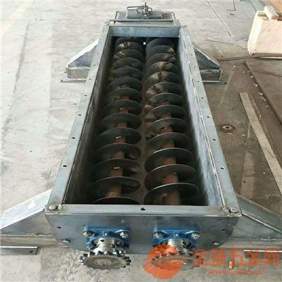 垃圾处理圆管提升机定制 惠州圆管16厘米管径螺旋提升