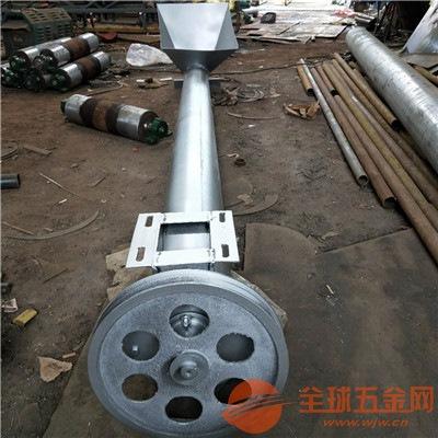 安顺粮食螺旋提升机价格螺旋式不锈钢上料机厂家