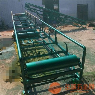 超耐磨沙石输送机报价 江门行动方便皮带式砂石输送机厂
