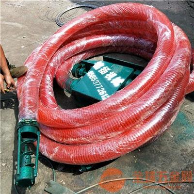 马路晒粮散装粮食谷子水稻装袋吸粮机螺旋式软管家用吸粮